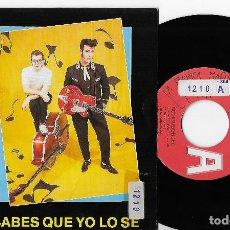 """Discos de vinilo: ROCK´N´BORDES 7"""" SPAIN 45 SABES QUE YO LO SE 1990 SINGLE VINILO PROMOCIONAL ROCK & ROLL ROCKABILLY. Lote 285140763"""