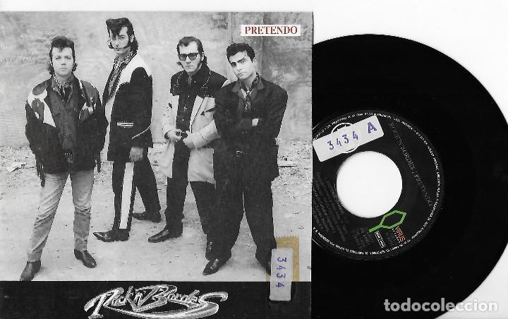 """ROCK´N´BORDES 7"""" SPAIN 45 PRETENDO + LA CIUDAD DE NOCHE 1991 SINGLE VINILO ROCK & ROLL ROCKABILLY !! (Música - Discos - Singles Vinilo - Rock & Roll)"""