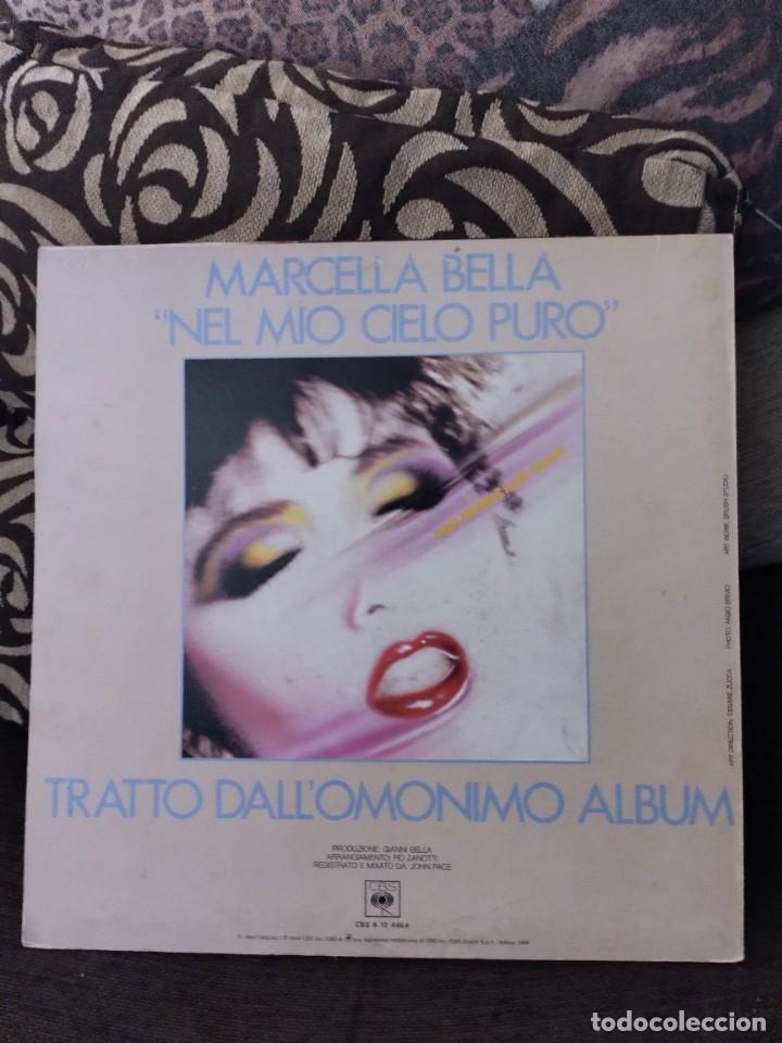 Discos de vinilo: Maxi-single de Marcella Bella. Nel mío cielo puro. Edición CBS de 1984 Italiana. Raro - Foto 2 - 285198103