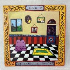 Discos de vinil: SINGLE CECILIA UN RAMITO DE VIOLETAS - ESPAÑA - AÑO 1974. Lote 285206818