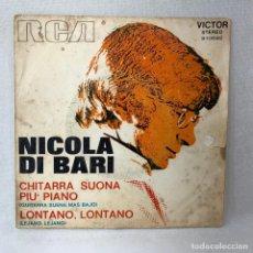 Discos de vinilo: SINGLE NICOLA DI BARI - CHITARRA SUONA PIU' PIANO - ESPAÑA - AÑO 1972. Lote 285208138