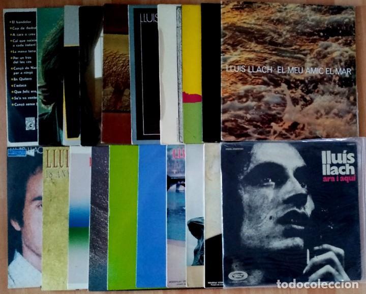 DISCOGRAFIA LLUIS LLACH, AÑOS 70/80 (Música - Discos - LP Vinilo - Solistas Españoles de los 70 a la actualidad)