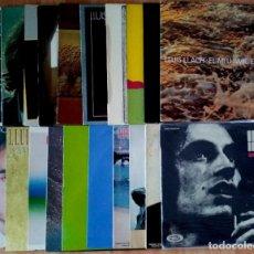 Discos de vinilo: DISCOGRAFIA LLUIS LLACH, AÑOS 70/80. Lote 285212098