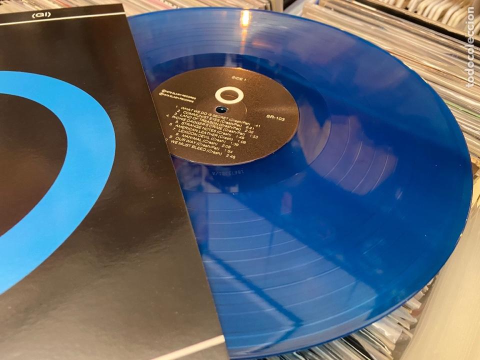 Discos de vinilo: The Germs Gi lp disco de vinilo color Hardcore Punk - Foto 3 - 285212303