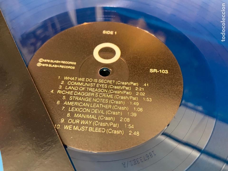 Discos de vinilo: The Germs Gi lp disco de vinilo color Hardcore Punk - Foto 4 - 285212303