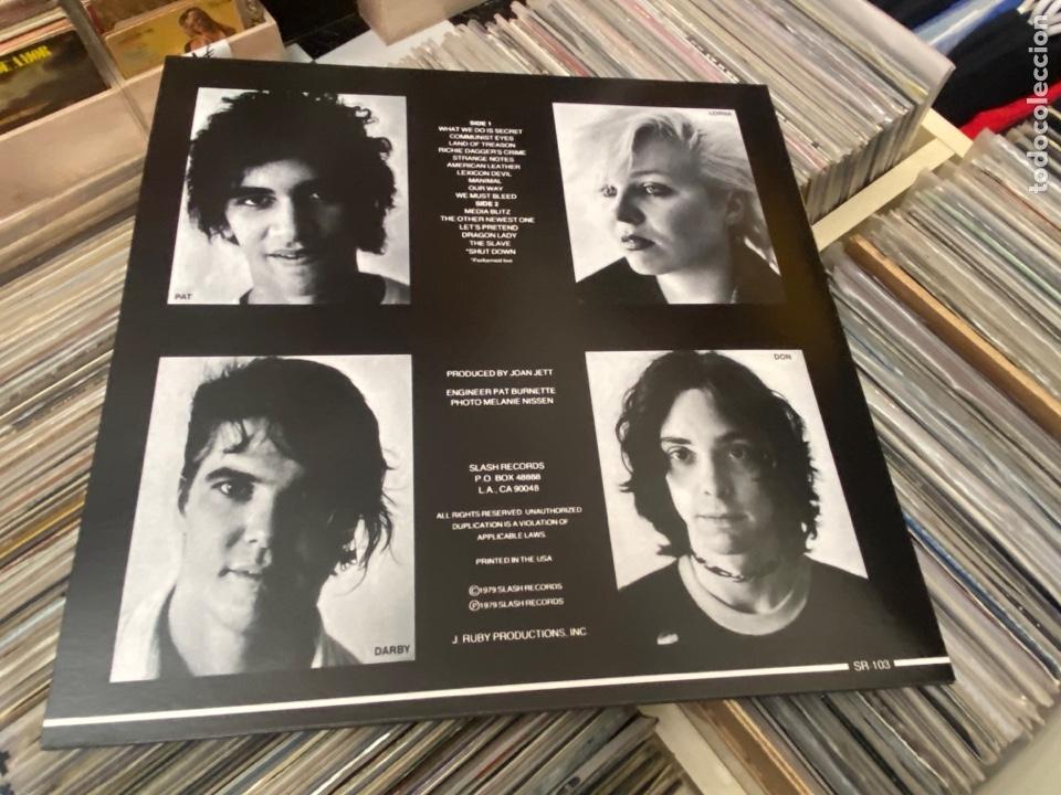 Discos de vinilo: The Germs Gi lp disco de vinilo color Hardcore Punk - Foto 5 - 285212303
