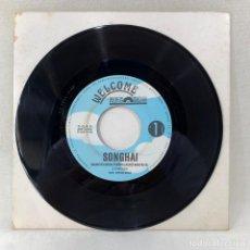 Discos de vinilo: SINGLE SONGHAI - BARCELONA TOWN - ESPAÑA - AÑO 1990. Lote 285221198