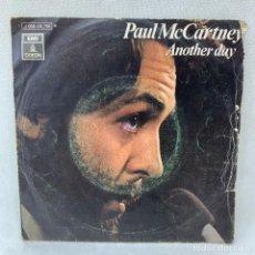 Discos de vinil: SINGLE PAUL MACCARTNEY - ANOTHER DAY / ERROR DE IMPRENTA CARA 2 -LOS DIABLOS - AÑO 1971 - ESPAÑA. Lote 285231758