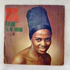 Discos de vinilo: SINGLE MIRIAM MAKEBA - ABATIDA - ESPAÑA - AÑO 1968. Lote 285234008