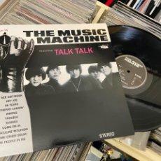 Disques de vinyle: THE MUSIC MACHINE TALK TALK LP DISCO DE VINILO GARAJE PSYCH 60S. Lote 285234188