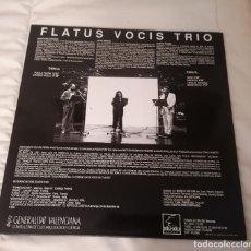 Discos de vinilo: DISCO VINILO LP GROSSO MODO - FLATUS VOCIS TRÍO -. Lote 285238063