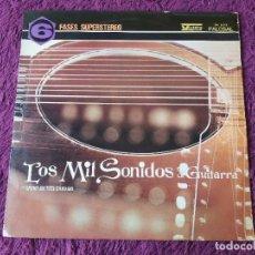 Discos de vinilo: BRUNO BATTISTI D'AMARIO – LOS MIL SONIDOS DE LA GUITARRA, VINYL LP 1967 SPAIN PH. 5.013. Lote 285272498