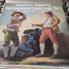 Discos de vinilo: JOAQUÍN DÍAZ. CANCIONES INFANTILES DEL CANCIONERO TRADICIONAL. VOL 2. VINILO.. Lote 285277763