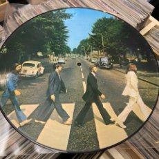 Discos de vinilo: THE BEATLES ABBEY ROAD PICTURE LP DISCO DE VINILO. Lote 285281113