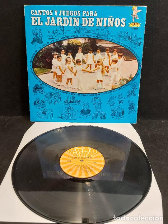 Discos de vinilo: CANTOS Y JUEGOS PARA EL JARDÍN DE NIÑOS / LP - CORO-MEXICO / MBC. ***/*** - Foto 2 - 285281508