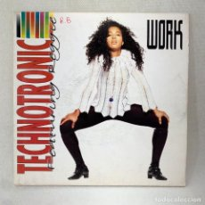 Discos de vinilo: SINGLE TECHNOTRONIC FEATURING REGGIE - WORK - ESPAÑA - AÑO 1991. Lote 285282183