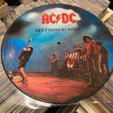Discos de vinilo: AC/DC LET THERE BE ROCK PICTURE LP DISCO DE VINILO. Lote 285282318