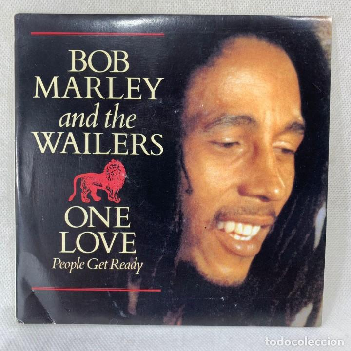 SINGLE BOB MARLEY & THE WAILERS - ONE LOVE - ESPAÑA - AÑO 1984 (Música - Discos - Singles Vinilo - Reggae - Ska)