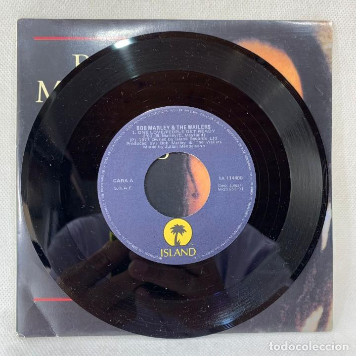 Discos de vinilo: SINGLE BOB MARLEY & THE WAILERS - ONE LOVE - ESPAÑA - AÑO 1984 - Foto 2 - 285282513