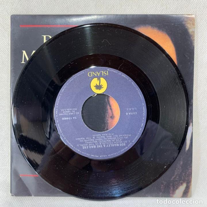 Discos de vinilo: SINGLE BOB MARLEY & THE WAILERS - ONE LOVE - ESPAÑA - AÑO 1984 - Foto 3 - 285282513