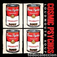 Discos de vinilo: COSMIC PSYCHOS–LOUDMOUTH SOUP. LP VINILO PRECINTADO. AUSTRALIAN PUNK.. Lote 285294883