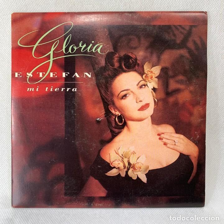 SINGLE GLORIA STEFAN - MI TIERRA - ESPAÑA - AÑO 1993 (Música - Discos - Singles Vinilo - Grupos y Solistas de latinoamérica)