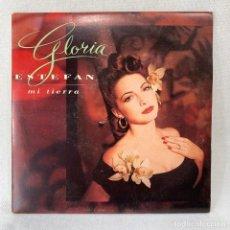 Discos de vinilo: SINGLE GLORIA STEFAN - MI TIERRA - ESPAÑA - AÑO 1993. Lote 285297548