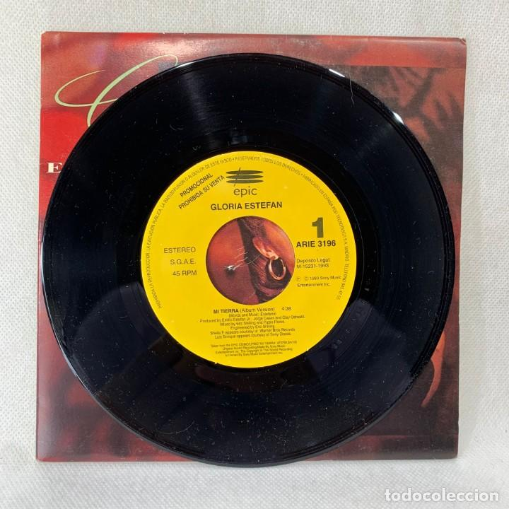Discos de vinilo: SINGLE GLORIA STEFAN - MI TIERRA - ESPAÑA - AÑO 1993 - Foto 2 - 285297548