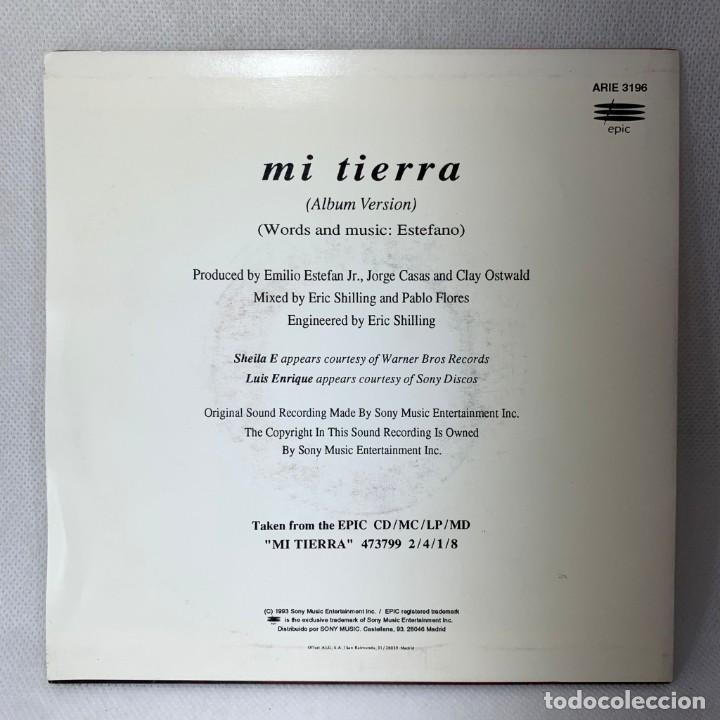Discos de vinilo: SINGLE GLORIA STEFAN - MI TIERRA - ESPAÑA - AÑO 1993 - Foto 4 - 285297548