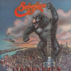 Discos de vinilo: BABYFACE - STRI KES BACK / LP DE 1977 / CARATULA ALGO ROZADA. VINILO BUEN ESTADO RF-10174. Lote 285306023