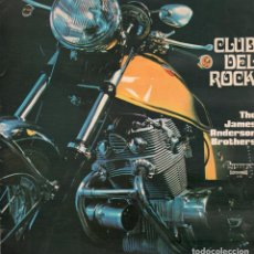 Discos de vinilo: CLUB DEL ROCK - THE JAMES ANDERSON BROTHERS / LP DE 1972 / BUEN ESTADO RF-10177. Lote 285310838