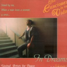 Discos de vinilo: LAS CANCIONES DE TU VIDA - IN DREAMS - UNITED ARTISTS FOR PEACE VOL. 2 / LP EFEN 1991 RF-10184. Lote 285313118