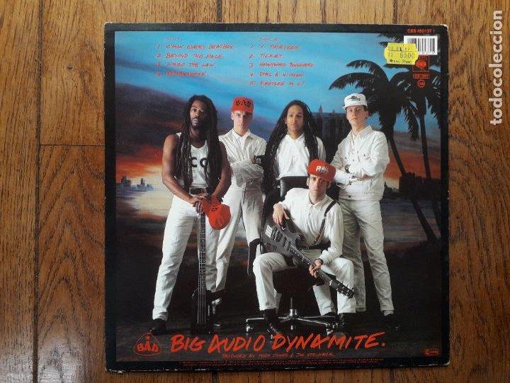 Discos de vinilo: Big audio dynamite ( bad) - no. 10, upping st. - Foto 2 - 285334233