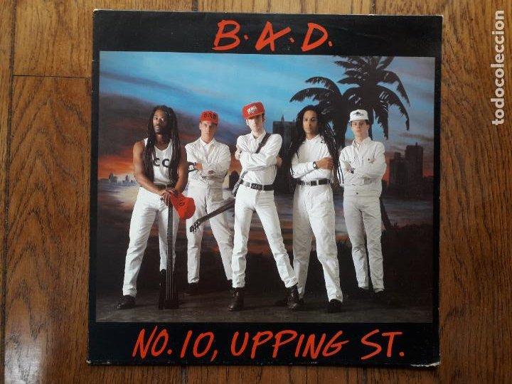 BIG AUDIO DYNAMITE ( BAD) - NO. 10, UPPING ST. (Música - Discos de Vinilo - EPs - Pop - Rock - New Wave Internacional de los 80)