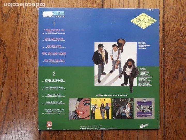 Discos de vinilo: Bad boys blue - my blue world - Foto 2 - 285335403