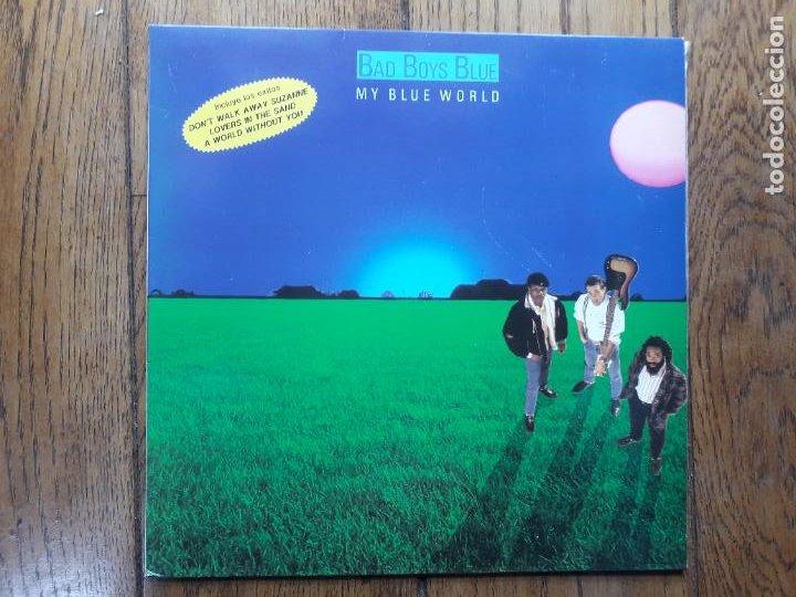 BAD BOYS BLUE - MY BLUE WORLD (Música - Discos - LP Vinilo - Pop - Rock - New Wave Internacional de los 80)