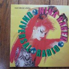 Discos de vinilo: NINA HAGEN - UNIVERSAL RADIO. Lote 285335983