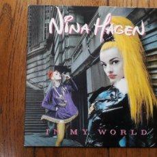 Discos de vinilo: NINA HAGEN - IN MY WORLD. Lote 285336563