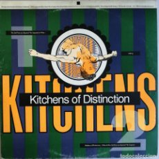Discos de vinilo: KITCHENS OF DISTINCTION, THE 3RD TIME WE OPENED THE CAPSULE & 4 MEN, ONE LITTLE INDIAN 19TP12. Lote 285364438