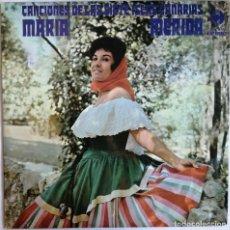 Disques de vinyle: MARIA MERIDA, CANCIONES DE LAS SIETE ISLAS CANARIAS, CLAVE 18-1249 S. Lote 285373278