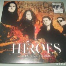 Discos de vinil: HEROES DEL SILENCIO - SILENCIO Y ROCK & ROLL - BANDA SONORA ..2 LPS + 2 CD - NUEVO - PRECINTADO. Lote 285329063
