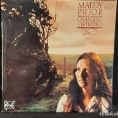 Disques de vinyle: MADDY PRIOR / CHANGING WINDS (VIENTOS QUE CAMBIAN) / LP - CHRYSALIS-1981 / MBC. ***/***INSERTO. Lote 285377863