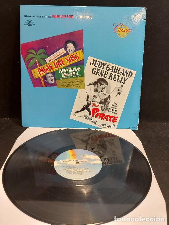 Discos de vinilo: B.S.O. !! PAGAN LOVE SONG AND THE PIRATE / LP - MCA-1980 / MBC. ***/*** - Foto 2 - 285381193