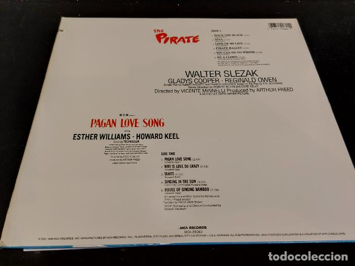 Discos de vinilo: B.S.O. !! PAGAN LOVE SONG AND THE PIRATE / LP - MCA-1980 / MBC. ***/*** - Foto 3 - 285381193