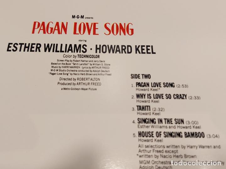 Discos de vinilo: B.S.O. !! PAGAN LOVE SONG AND THE PIRATE / LP - MCA-1980 / MBC. ***/*** - Foto 5 - 285381193