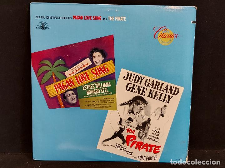 B.S.O. !! PAGAN LOVE SONG AND THE PIRATE / LP - MCA-1980 / MBC. ***/*** (Música - Discos - LP Vinilo - Bandas Sonoras y Música de Actores )