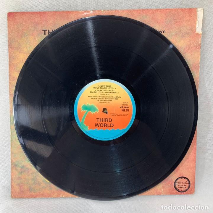 Discos de vinilo: MAXI SINGLE THIRD WORLD - NOW THAT WEVE FOUND LOVE - UK - AÑO 1978 - Foto 3 - 285381918