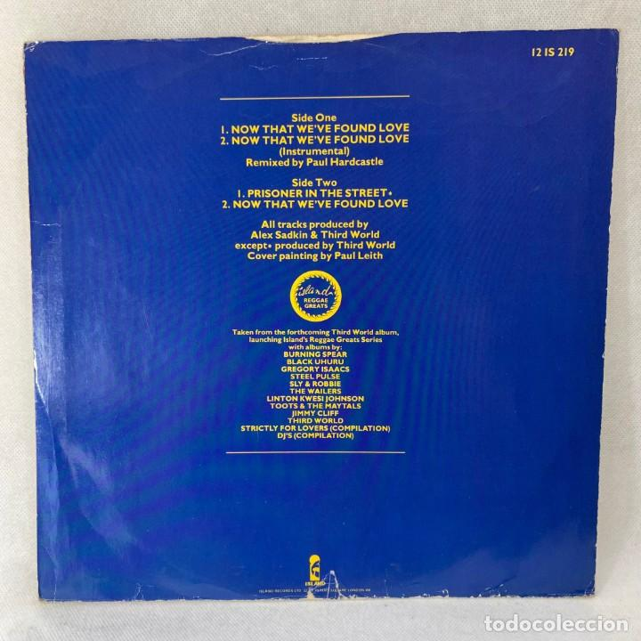 Discos de vinilo: MAXI SINGLE THIRD WORLD - NOW THAT WEVE FOUND LOVE - UK - AÑO 1978 - Foto 4 - 285381918