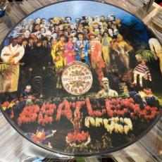 Disques de vinyle: THE BEATLRS SGT PEPPERS LONELY LP PICTURE DISCO DE VINILO. Lote 285387693