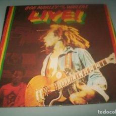 Discos de vinilo: BOB MARLEY AND THE WAILERS LIVE LP 1978 EDICION ESPAÑOLA - ISLAN RECORDS - 1978. Lote 285396178